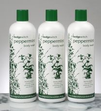 natural peppermint body wash 500ml