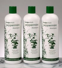 natural peppermint shampoo 500ml